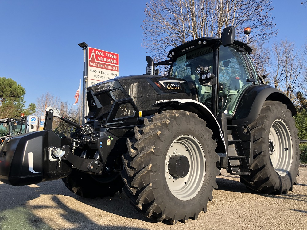 DEUTZ 6215 TTV WARRIOR TIER V